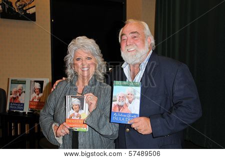 Paula Dean and Michael Groover at a personal appearance, Barens & Noble, Glendale, CA.  11-11-09