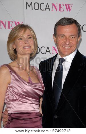 Willow Bay and Bob Iger at the MOCA New 30th Anniversary Gala, MOCA Grand Avenue, Los Angeles, CA. 11-14-09