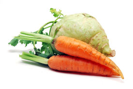 Carrots And Kohlrabi