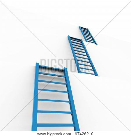Ladders Planning Means Overcome Obstacles And Aspire