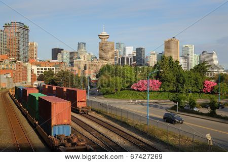 Downtown Rail Lines, Vancouver