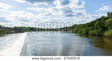 Philadelphia Fairmount Dam - Pennsylvania - Usa