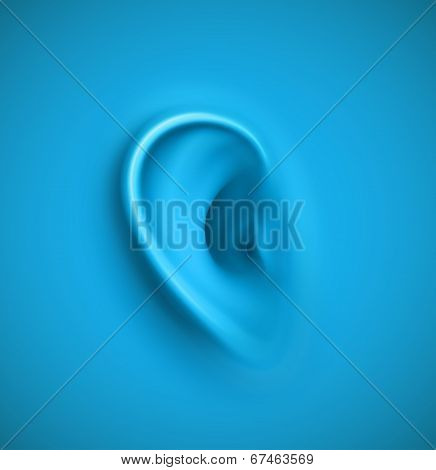 Background With Ear