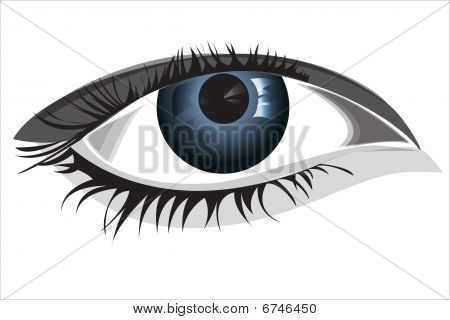 Bright Woman eye