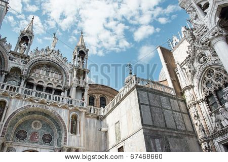 San Marco Cathedral in Venice, Italy