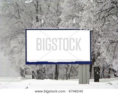 Snow Billboard