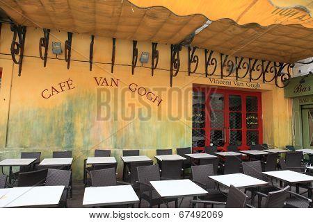 Cafe Van Gogh in Arles, France