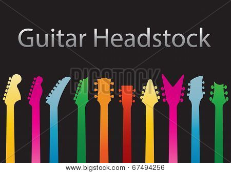 Guitar headstocks