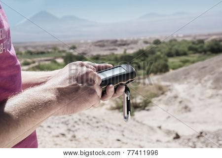 Geocaching Atacama Desert