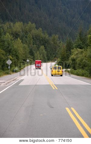 Red Truck, Yellow Van