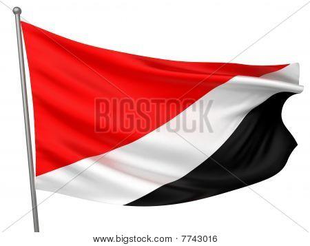 Sealand, Principality Of National Flag