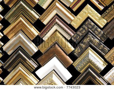 Fragments Of Wooden Frames