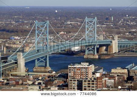 Philadelphia's Ben Franklin Bridge