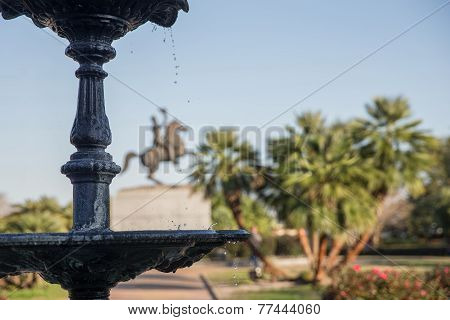 New Orleans - Jackson Square Fountain