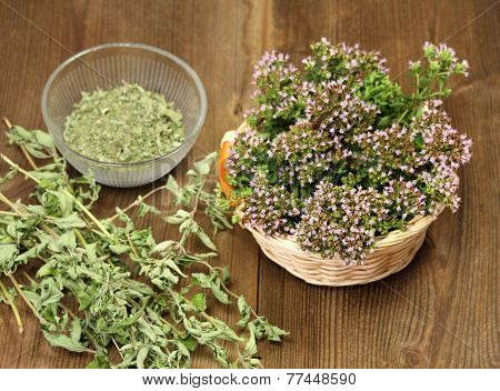Fresh And Dried Herbs