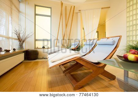 Elegant Spa In Hotel
