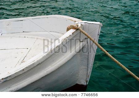 Boeg van de boot