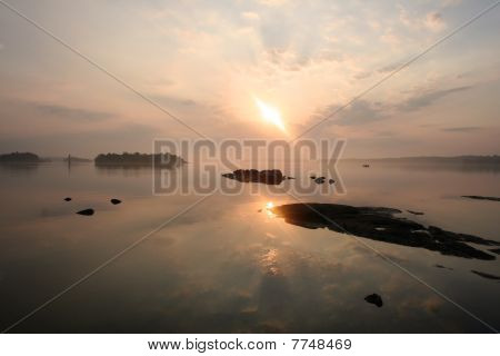 Sunrise on the St. Lawrence
