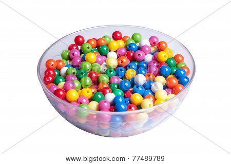 Multi Colored Pearls