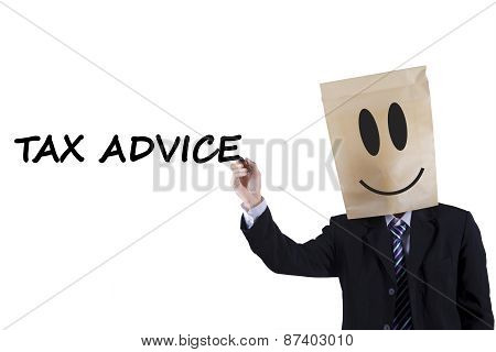 Anonymous Person With Tax Advice