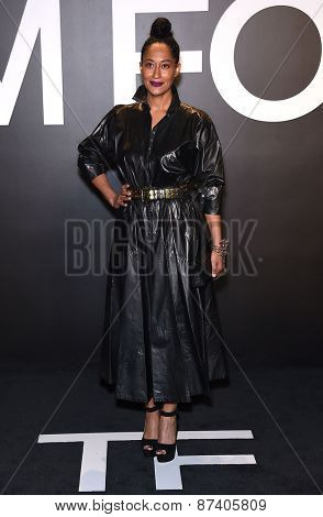 LOS ANGELES - FEB 20:  Tracee Ellis Ross arrives to the Tom Ford Autumn/Winter 2015 Womenswear Collection Presentation  on February 20, 2015 in Hollywood, CA
