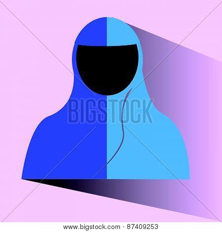 Doodle Muslimah (religious islamic girl)