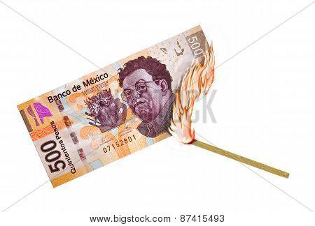 Mexican Peso Burn
