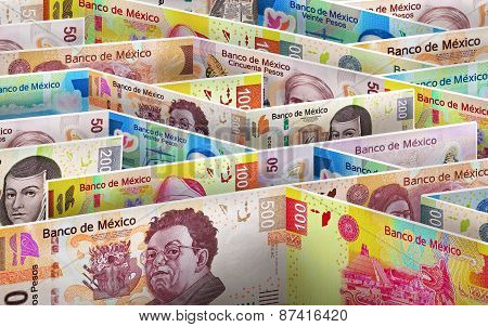 Mexican Money Labyrinth