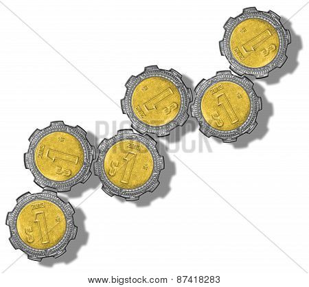 Mexican Peso Gears