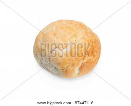 Fresh Bread Isolated On A White Background