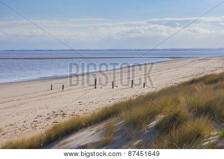 Natural Beach Environment Uk Coast