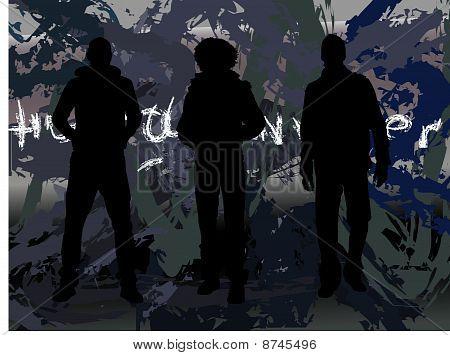 Three Man In A Row
