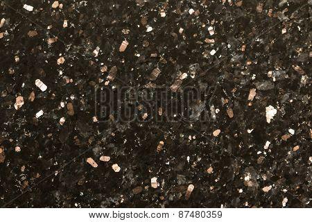 Black sparkle granite background