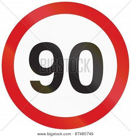 Speed Limit 90 In Argentina