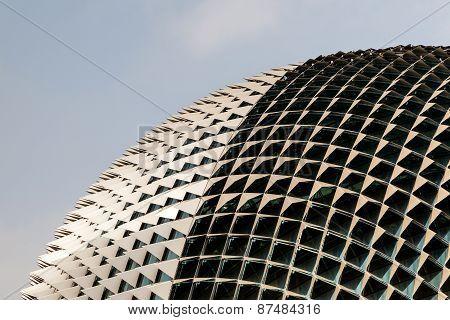 Singapore Landmark: Esplanade Theatres On The Bay
