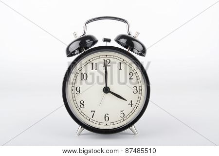 Four O'clock. Alarm Clock.