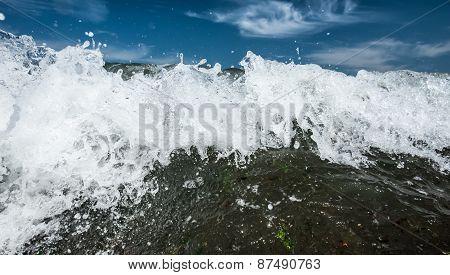 Ocean breakwater