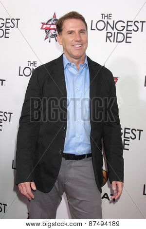 LOS ANGELES - FEB 6:  Nicholas Sparks at the