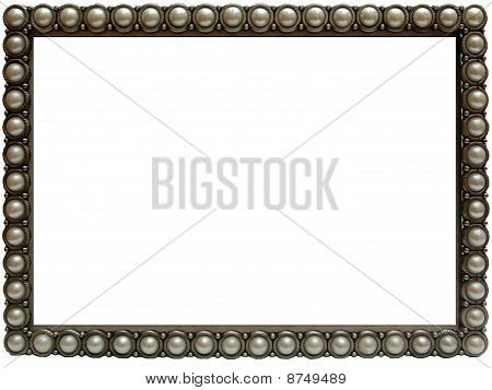 Elegant Pearl photo frame