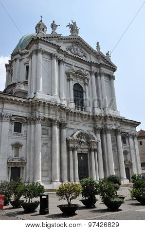 The Cathedral Of Brescia, Italy