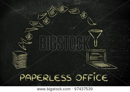 Paperless Office: Scanning Documents And Turning Paper Into Data