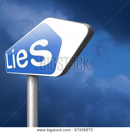 lies breaking promise break promises cheating and deception lying    poster