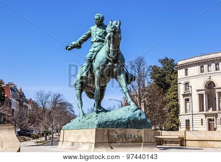 General Phil Sheridan Statue Sheridan Circle Washington Dc