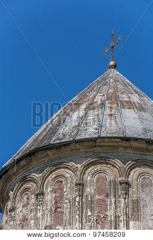 Detail Of The Gelati Monastery In Georgia
