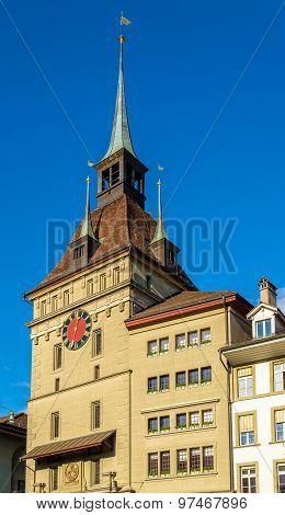 Prisoner Tower (Kafigturm) in Bern - Switzerland poster