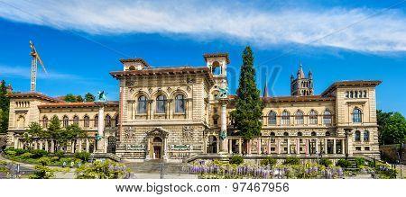 The Palais De Rumine In Lausanne - Switzerland