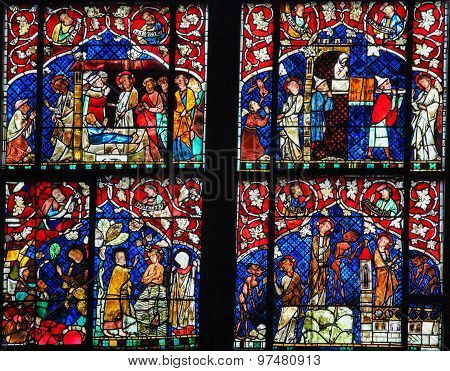Stained Glass - New Testament Scenes
