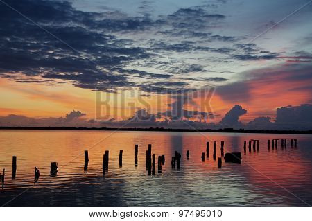 Sunrise Over the Indian River