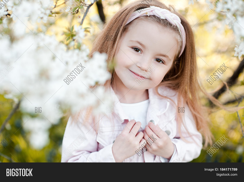 Smiling Cute Baby Girl Image & Photo (Free Trial) | Bigstock  Smiling Cute Ba...