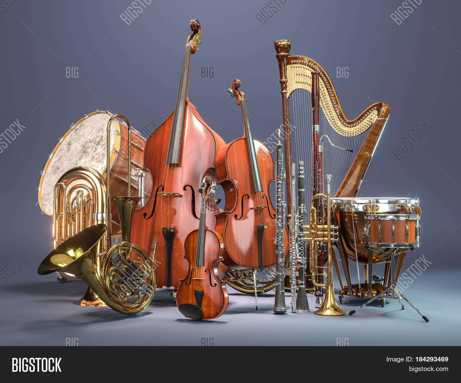 Orchestra Musical Image & Photo (Free Trial) | Bigstock